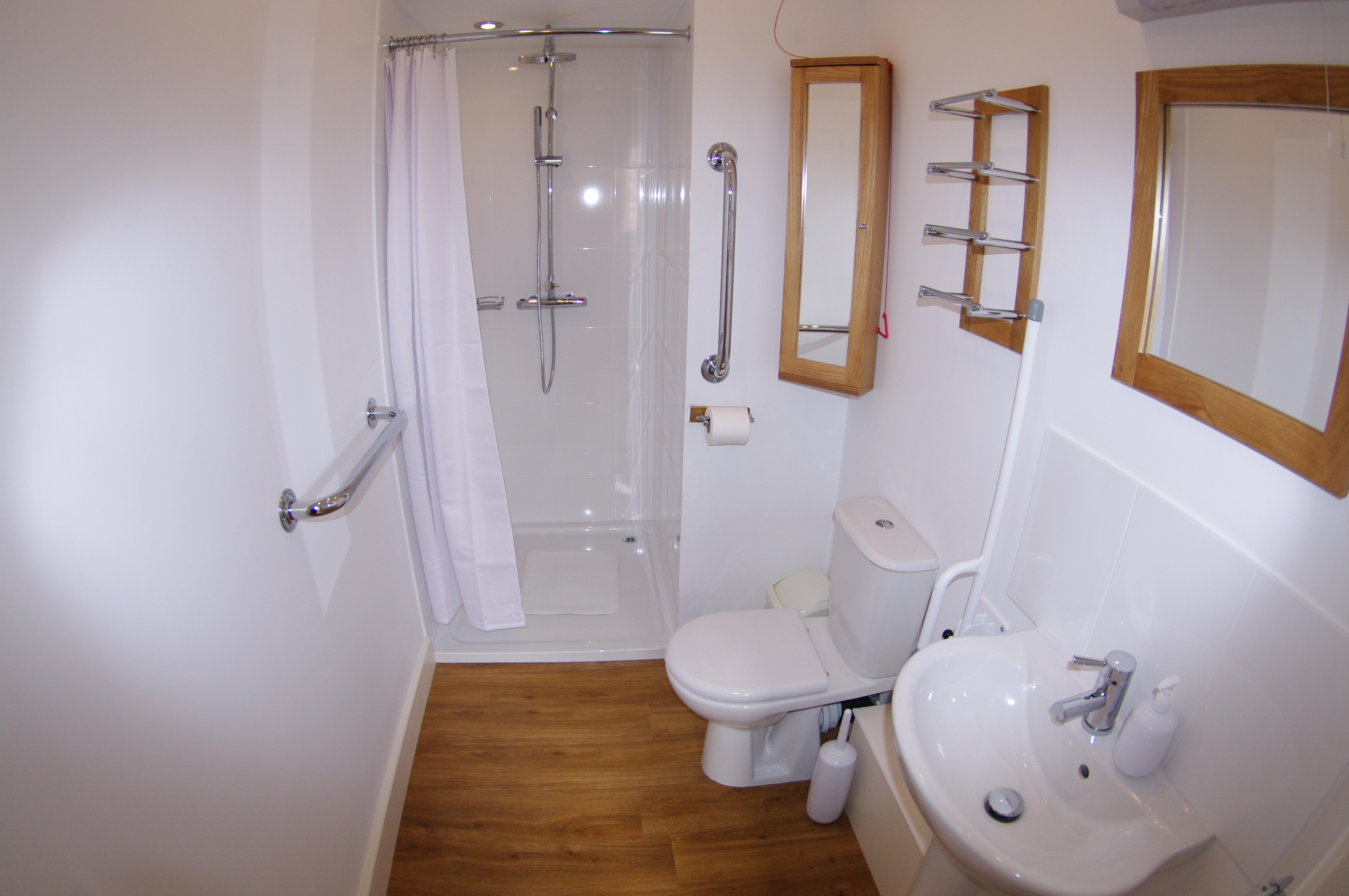Stairs lead to the first floor bedroom bathroom and en suite bedroom